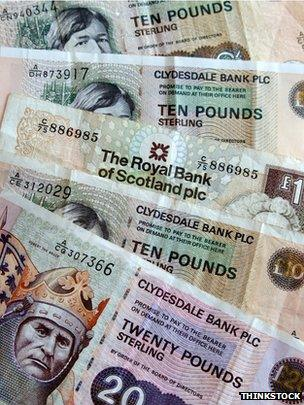 Britain's £1m and £100m banknotes - BBC News