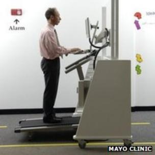 Treadmill desks: How practical are they? - BBC News