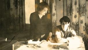 Clara Atelman de Fink and Claudio Marcelo Fink, 1974