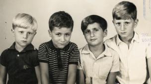 Gustavo, Guillermo, Diego and Eduardo Germano.