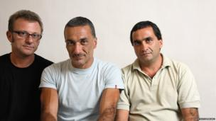 Gustavo, Guillermo and Diego Germano