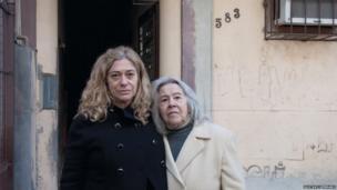 Suzana Keniger Lisboa and her mother Milke Waldemar Keniger