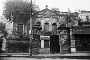 Calcutta building, 1978