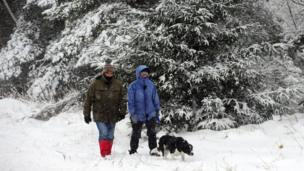 Snow and storms hit UK (again)