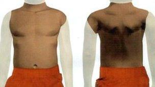 Met Police image of torso
