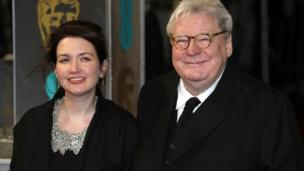Sir Alan Parker with his wife Lisa