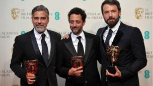 George Clooney, Grant Heslov and Ben Affleck