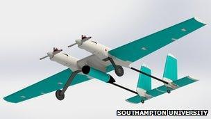 2Seas20 experimental drone