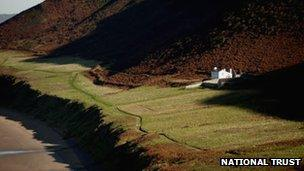 The Old Rectory in Rhossili Bay