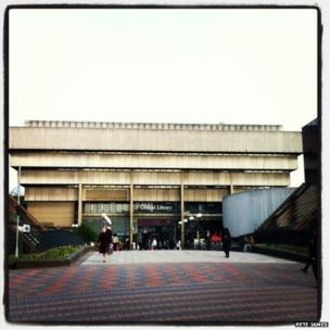 The Birmingham Central Library
