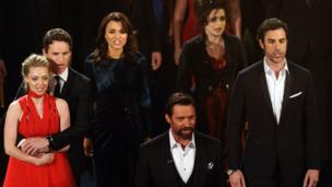 Amanda Seyfried, Eddie Redmayne, Samantha Bark, Hugh Jackman, Helena Bonham-Carter, Sacha Baron-Carter