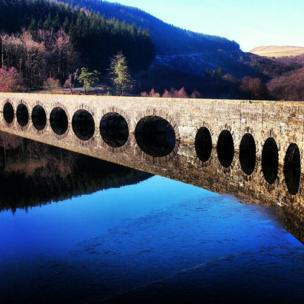 Kerry Graham from Builth Wells in Powys took this photo up the Elan Valley close to Caban Coch reservoir