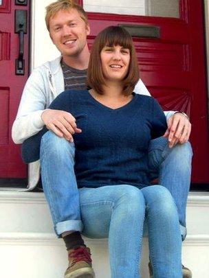 Aled Williams and his wife Rosie
