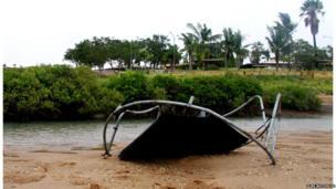 Cyclone Rusty. Photo: Elise Batchelor