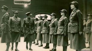 Archive photograph of an inspection