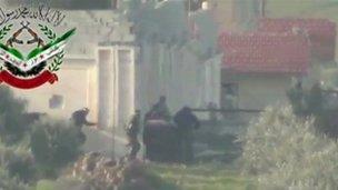 Unverified footage from Khan al-Assal (2 Mar 2013)