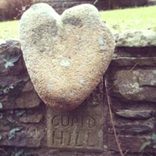 This was spotted on Rhiwbina Hill, Cardiff, by Janine Cooper while walking her dog on the way to Fforest Fawr and Castell Coch.