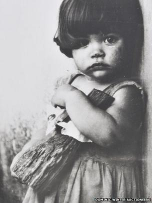 Girl with a wooden doll: Alberto Norda's favourite photograph