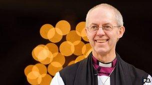 The Most Reverend Justin Welby