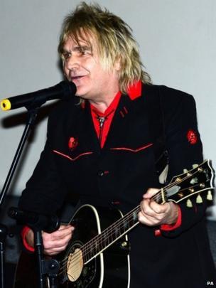 Alarm frontman Mike Peters