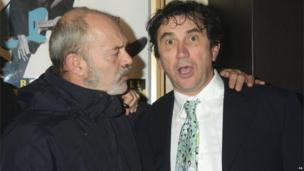 Keith Allen and Phil Daniels