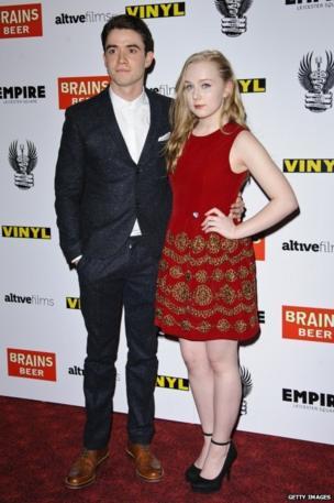 Actors Jamie Blackley and Alexa Davies