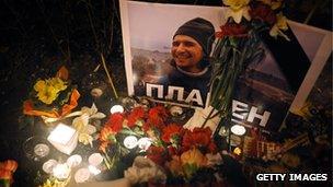 Candlelight vigil for Plamen Goranov (4 March 2013)
