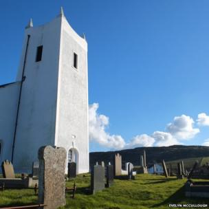 Ballintoy church and graveyard