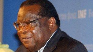 Malawi's Economic Planning Minister Goodall Gondwe (file photo)