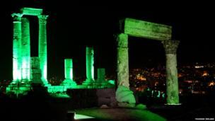 Temple of Hercules Amman, Jordan