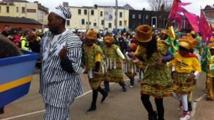 Londonderry parade