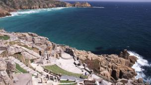 The Minack Theatre today