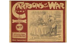 Front cover of Cartoons of the War