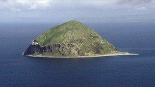 Ailsa Craig: Asking price reduced in Irish Sea island sale