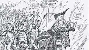 The Pied Piper of Criccieth