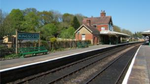 Kingscote station