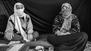 Ayman, 82, (left) and his 67-year-old wife, Yasmine in Turkey