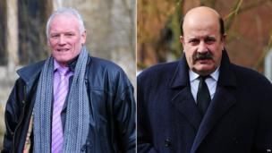 Composite image of Eddie Gray and Willie Thorne