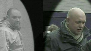 Richard Trunkfield (l) and Alan Tierney (r)