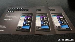blackberry Z10 brochures