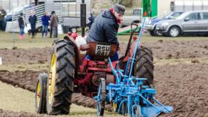 North Lorn Ploughing Match at Ardachy Farm near Oban