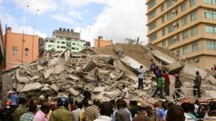 Pile of rubble in Dar es Salaam. Photo: Muhammad Mahdi Karim