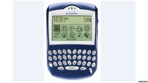 Blackberry 6000 series smartphone