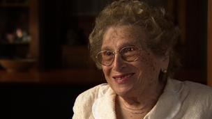 Rosa Roisinblit of the Grandmothers of the Plaza de Mayo