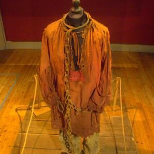 Hugh Jackman's Valjean convict costume