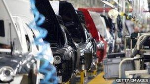 Confidence in the manufacturing industry has plunged