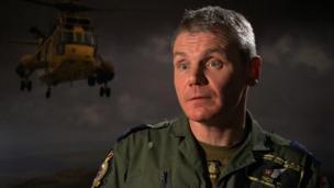 Master Aircrewman Richard Taylor