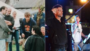 Blur and Lamacq