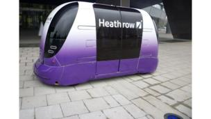 Pod for Heathrow Airport on show in Birmingham