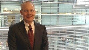 Kurt DelBene is president of Microsoft's Office division